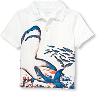The Children's Place Baby Boys Short Sleeve Print Polo