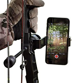 Original Fighting Squirrel Smartphone Bow Mount Phone Clamp Holder Bracket for Archery Hunting Video Camera with Apple iPh...