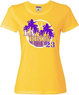 Go All Out Womens LA Bron 23 T-Shirt