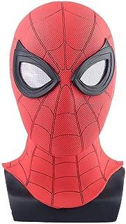 Spider Man Homecoming Mask Spiderman Mask Helmet Hero Costume Cosplay Red & Black