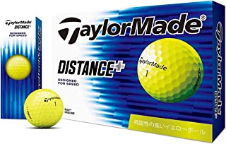 テーラーメイド DISTANCE+ ボール DISTANCE+ ボール 3ダースセット 3ダース(36個入り)