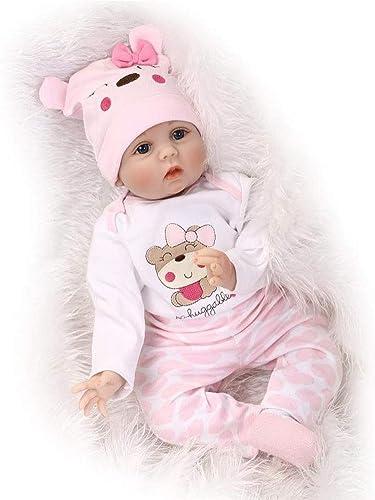 CHENG Reborn Babypuppen Realistische Handgemachte Babys Reborn Puppe Spielzeug Geburtstagsgeschenk