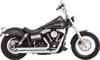 Vance & Hines 07-17 Harley FXDB3 Big Shots Staggered Exhaust (Chrome)