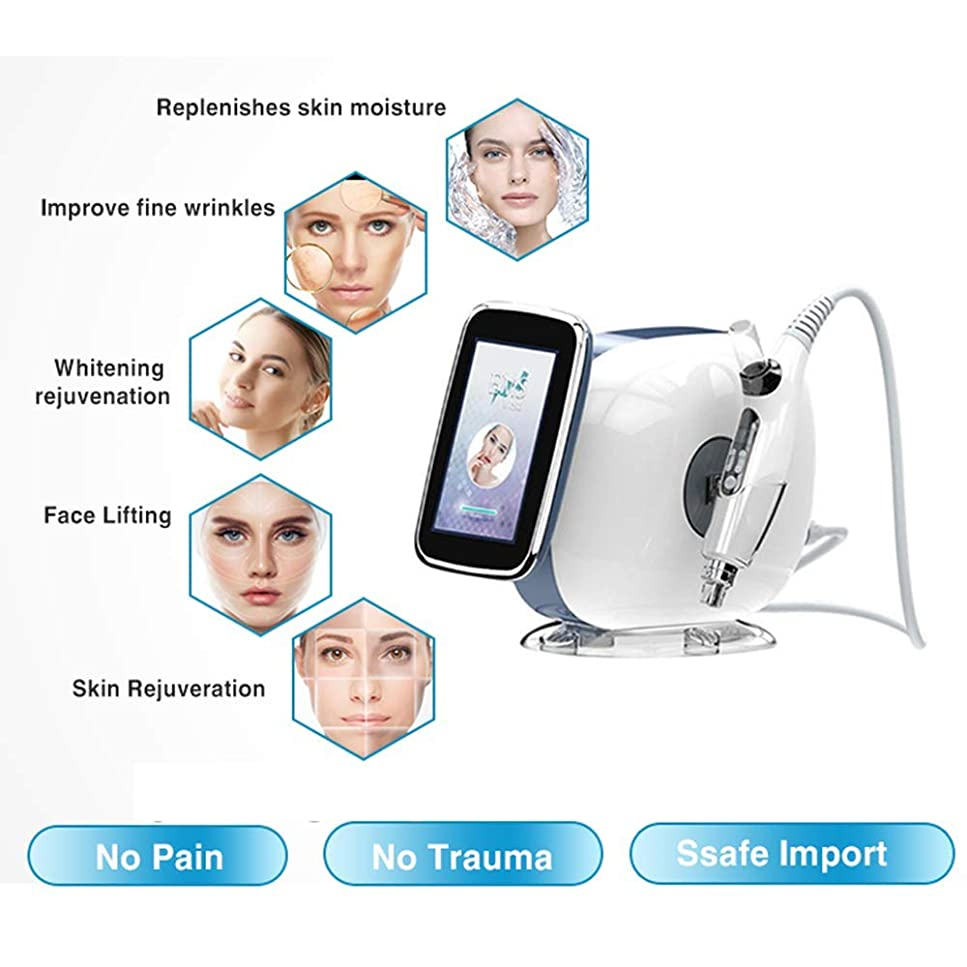 夕暮れタヒチ空中顔の皮の美容院の鉱泉機械、3-In-1Portableの手持ち型の高周波皮療法、EMS、FR、皮のきつく締まること、しわの減少