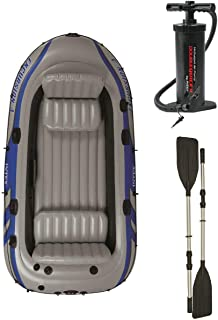 Intex 68324 Excursion 4 Inflatable Raft Set - Gray
