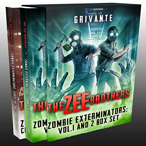 The Zee Brothers Vol. 1 & 2 Box Set audiobook cover art