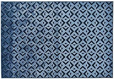 Exclusive Edition Exclusive Editon-Flat Woven Decoration Carpet 135 x 195 x 2 cm Polyester Multicolour