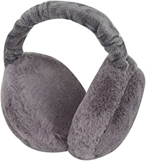 Adela Women Men Winter EarMuffs Outdoor Soft Plush Ear Warmer Fluffy Earlap Muffs