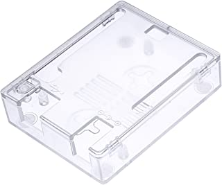 RICHEN ABS Case/Shell/Enclosure for Arduino UNO R3 (Clear)