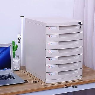 Armoire à fichiers Classeur Armoires de bureau Boîte de rangement Mobilier de bureau Archive Cabinet Grand Espace de verro...
