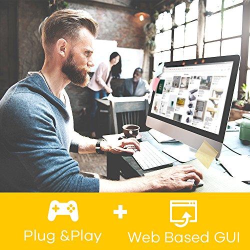 Zyxel 5-Port Gigabit Web Managed Switch, Lifetime Garantie [GS1200-5]