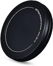 JJC Metal Lens Filter Stack Cap Filter Protective Case for 77mm Ultraviolet UV Filter Circular Polarizer CPL Filter Neutral Density ND Filter and More Filters in 77mm Thread Size,Upgraded Slim Version