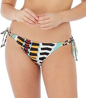 Freya Bassline Brazilian Bikini Bottom, S, Multi