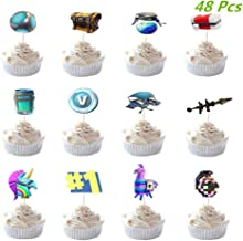 Forrnite cupcake Picks x6 cupcake decoration.