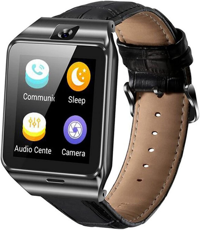 HQCC Smart Watch GPS-Tracking Smart Unlock Watch Unterstützung SIM-Karte Sprachanruf Sport-Datensatz für Android 4.4
