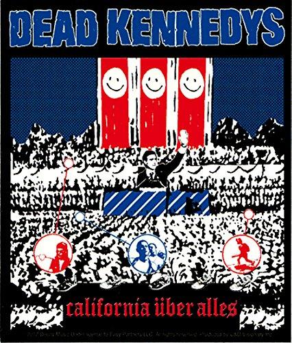 Dead Kennedys Punk Rock Music Band Sticker - California Uber Alles