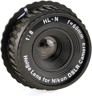 Holga 779120 Holga Lens for Nikon DSLR (Black)