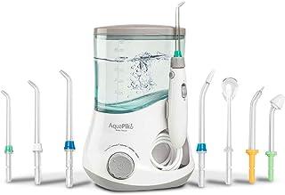 Boston Tech - Aquapik 100 - Irrigador dental y Nasal profesional con 7 Boquillas multifuncionales Recomendado a nivel mundial. Ideal para toda la familia garantia 5 años