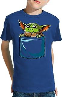 Camiseta de NIÑOS Star Wars Dark Vader Yoda Death Star 322