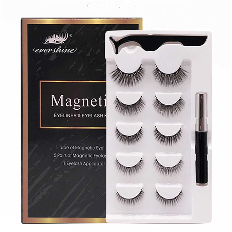 False Lashes Pack Fake Eyelashes Max 45% Selling OFF Eyelash Magnetic L Natural Mink