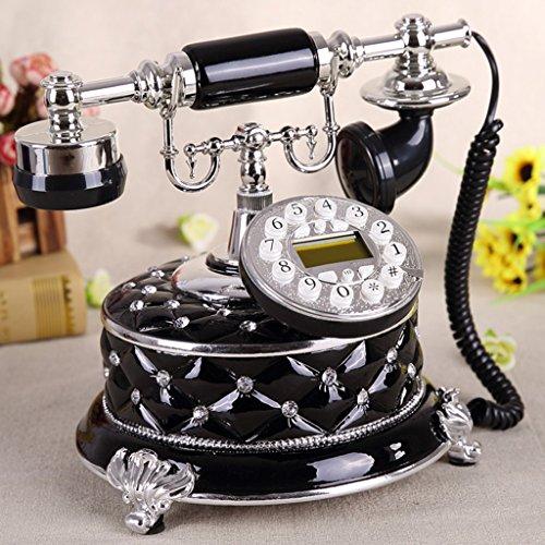 Shopping-De style européen Antique Métal Retro Fashion Creative Téléphone Blanc / Café / Noir