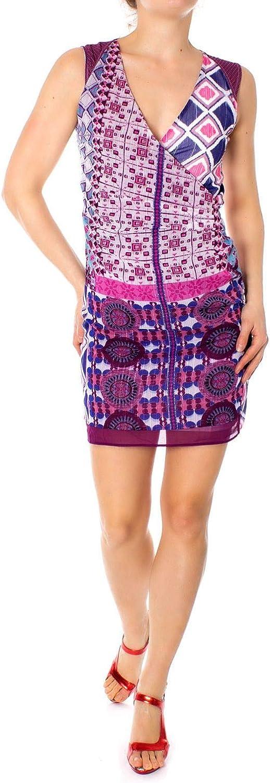 Desigual Women's 19SWVW88FUCHSIA Fuchsia Polyester Dress