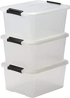 Iris Ohyama Top Box TB-15 Lote de 3 Cajas apilables de