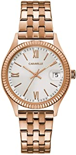 Caravelle Women's Rose-Gold Watch - 44M115