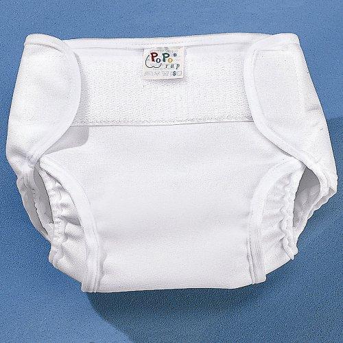 Popolini PopoWrap – Copripannolino bianco, taglia: XL