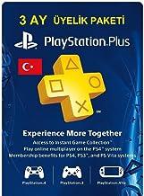 Sony PlayStation Plus Card 90 Gün [PlayStation 4 ]