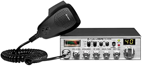 Cobra 29LTD Professional CB Radio - Emergency Radio, Travel Essentials, Instant Channel 9, 4 Watt Output, Full 40 Channels...