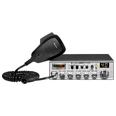 Cobra 29LTD Professional CB Radio - Emergency Radio, Travel Essentials, Instant Channel 9, 4 Watt Output, Full 40 Channels and SWR Calibration