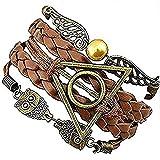 Golden Snitch Armband 'Gold' Harry Potter, Modelle zur Auswahl, 754311346622