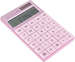 $44 » ZZL Multifunction Desktop Calculator Portable Student Dual Power Solar Office Business Accounting Specialized Large Button...