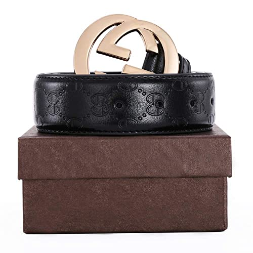 076e2c64c8e Men s Geniune Leather Belt Slide Metal Buckle