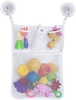 3d6a94b88466 Hihey Baby Bath Storage Bag a Rete con Lavabile Shampoo Doccia Net  Organizer con 2 Ventose
