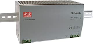 MW Mean Well DRP-480-48 48V 10A 480W Single Output Industrial DIN RAIL with PFC Function Power Supply