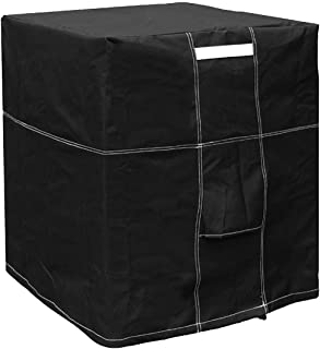 LBG Products Outside Square Black Air Conditioner Cover for Central AC Condenser Units (28