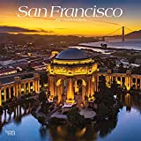 San Francisco 2022 12 x 12 Inch Monthly Square Wall Calendar, USA United States of America California Pacific West Coast City