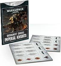 Gamesworkshop - Warhammer 40,000 - Datasheet Cards: Imperial Knights