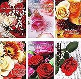 100 Glückwunschkarten zum Geburtstag Blumen 51-5102 Geburtstagskarte Grußkarten