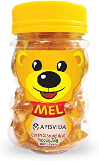 Beelife Bear, 100% Pure, Raw and Unfiltered Honey Sachets - 50 Units