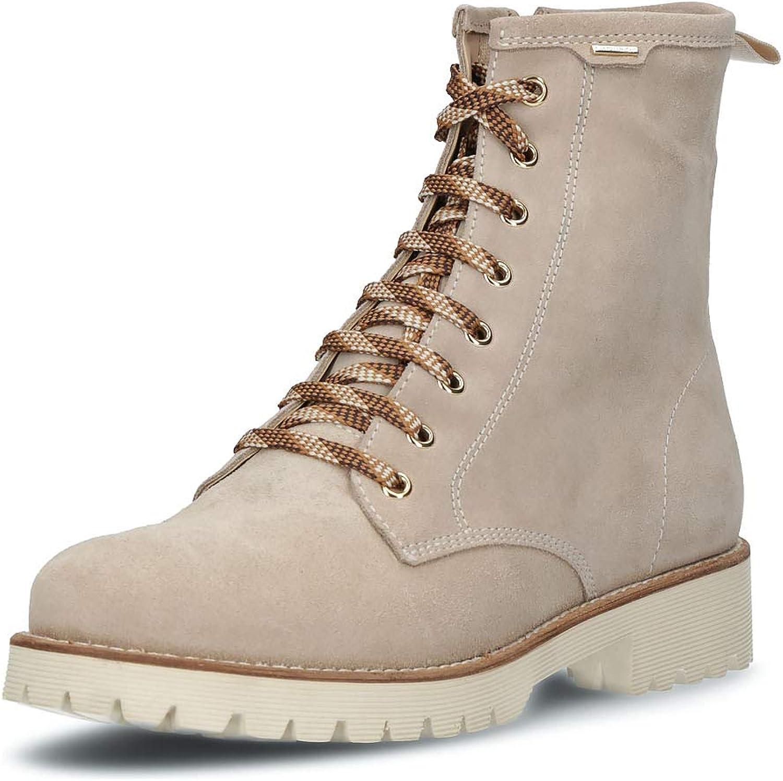 Geox Damen Damen Schuhe Stiefelies hochwertigem Glattleder  niedrigste Preise