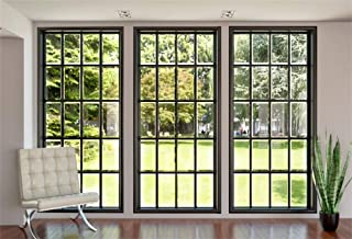 Yeele 7x5ft Modern Villa French Window Backdrop for Photography Living Room Interior Sofa Plant Background Kids Baby Adult Photo Booth Shoot Vinyl Studio Props