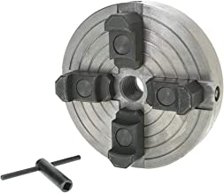 """Grizzly Industrial H8049-6"""" 4-Jaw Wood Chuck – 1"""" x 8 TPI"""