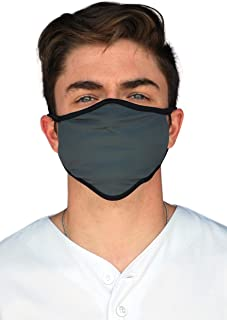 Made in USA: Face Coverings, Washable Reusable – Protection from Dust, Pollen, Pet Dander, Other Large Airborne Particles.