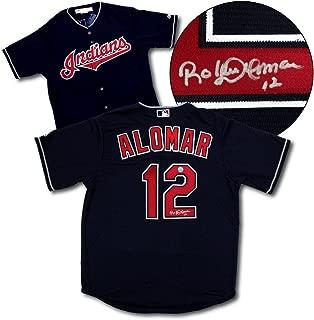 Autographed Roberto Alomar Jersey - Replica - Autographed MLB Jerseys