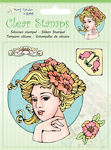 Unbekannt Jeje Jugendstil Clear Stamps, transparent