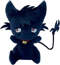 ROLECOS Kuro Sleepy Ash Black Cute Cat Doll Plush Toys Handmade CA387A