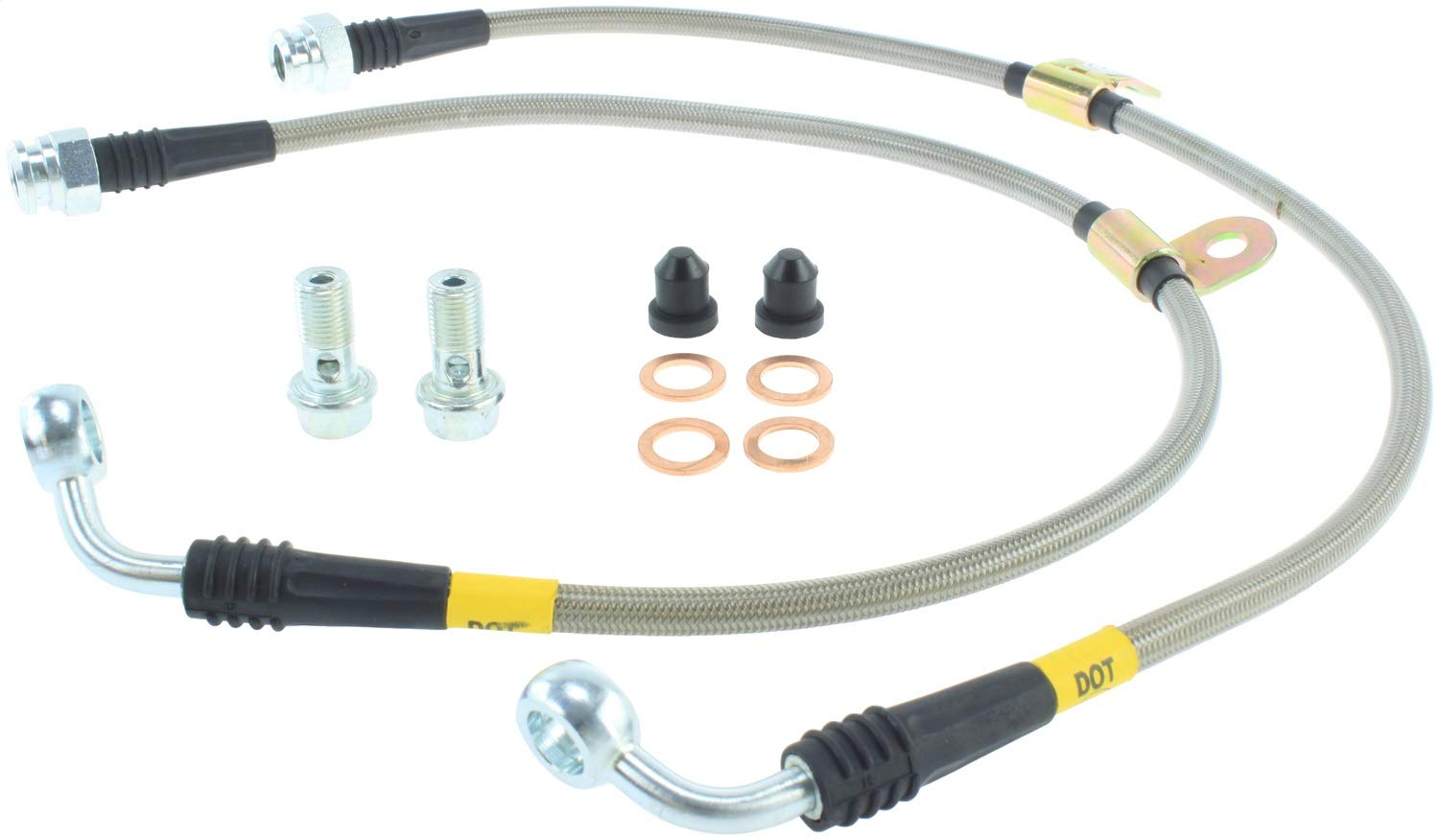 FULL KIT R55 56 57 58 59 Wezmoto Stainless Steel Braided Brake Hoses Lines